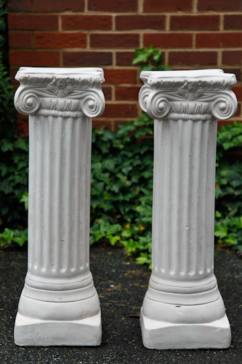 Pair of Medium Columns