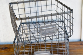 Square Wire Locker Basket