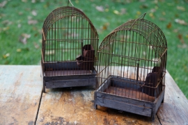 Small Vintage Birdcages