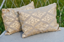 Gold Linen Pillows