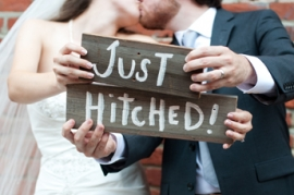 Just Hitched Signs