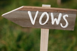 Vows Directional Signs