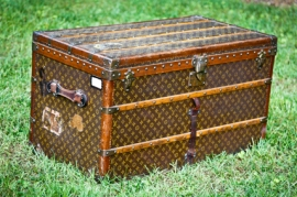Antique Louis Vuitton Steamer Trunk
