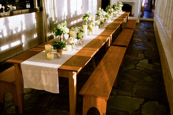 Signature Farm Table + Benches
